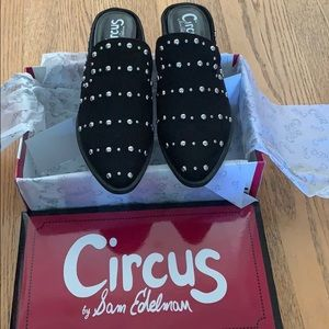Circus by Sam Edelman Studded Mules NWT